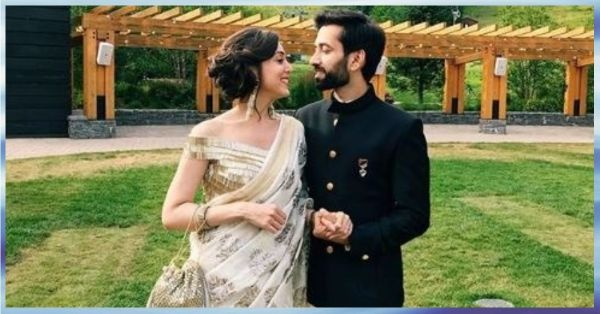 Nakuul Mehta & Wifey Jankee Brought Their Desi Swag To A Wedding In The USA!