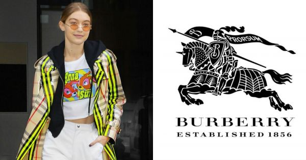 Burberry Says Buh-Bye To Their Equestrian Knight Logo & This Is Why