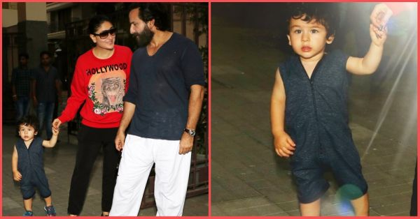 Forget A Playdate, We Want Taimur Ali Khan's Playsuit 'Coz It's Just SO Stylish!