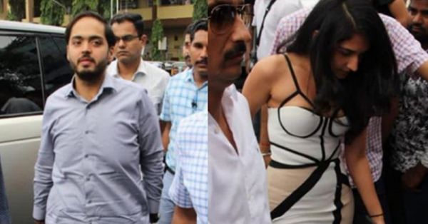 Anant Ambani Stepped Out With Bae Radhika For A Lunch Date & It's All Kinds Of 'Awww'