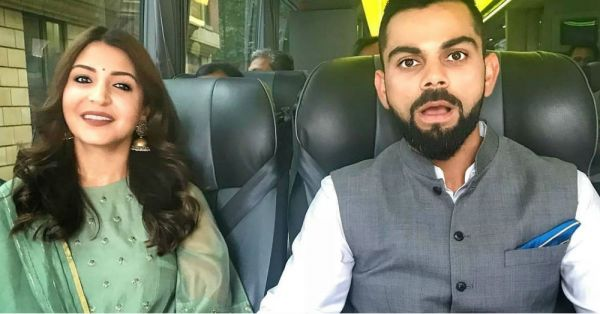 Anushka Sharma Says *Namastey London* In This Green Suit &  We're In Love!