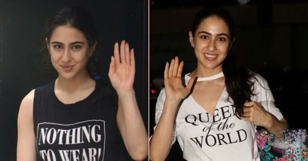 Looks Like Sara Ali Khan Had *Nothing To Wear* But Is Still The *Queen Of The World*