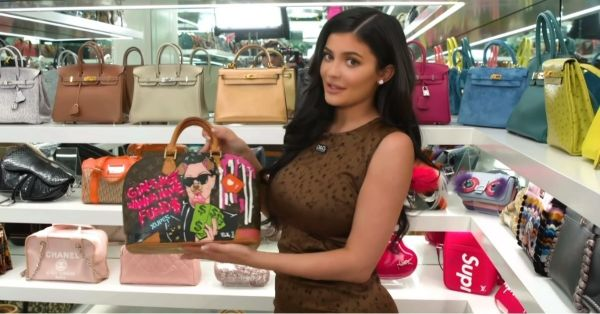 Move Over The Magical Kingdom Of Narnia 'Coz We Want To Step Into Kylie's Purse Closet!
