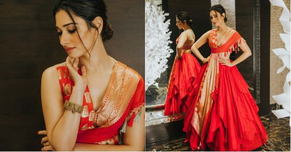 I Want To Steal Tamannah's Blouse Design For My Best Friend's Sangeet & This Is Why