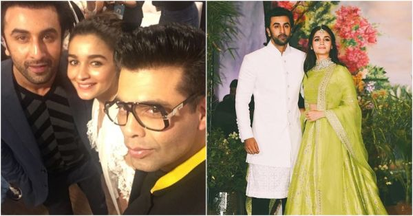 Did Karan Johar Just Give His Seal Of Approval To The Ranbir-Alia Wedding?