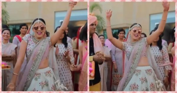 This Bride Dropped Some Major Bijli With Her Entry On Hawa Hawai!