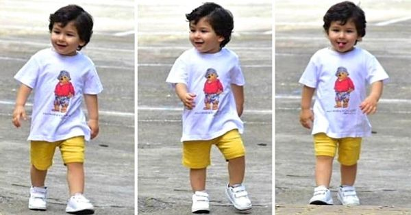 UnBEARable Cuteness: Taimur Is Not Ready To Say Bye-Bye To Summer Shorts & We Can't Blame Him