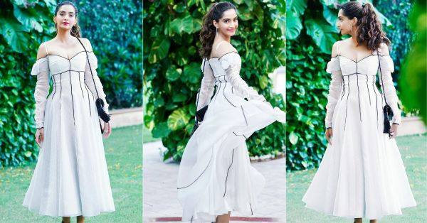 Is Sonam Kapoor Set To Get Married In A Church? This Beautiful White Dress Is Making Us Think So!
