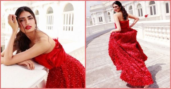 Athiya Shetty Just Recreated A Classic Fairy Tale Scene In This Fabulous Red Gown!