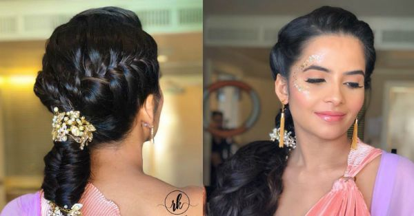 Bride Sprinkles Some Magic Dust On Our Instagram Feeds With Her Gorgeous Hairdo
