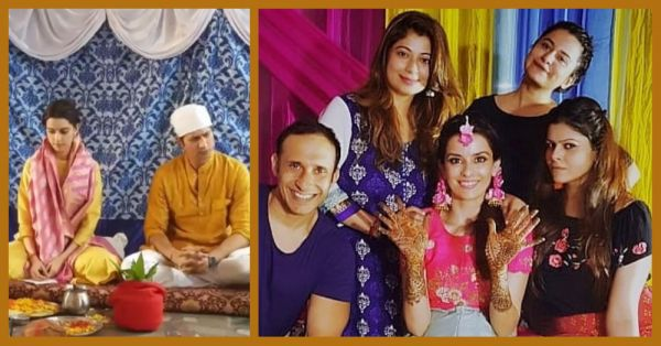 Sumeet Vyas & Ekta Kaul's Wedding Functions Have Started With A Pooja & A Mehendi Ceremony!