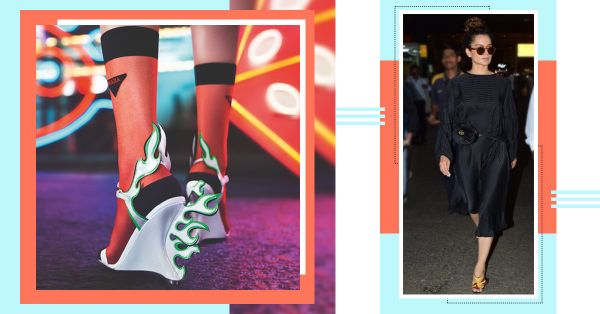 The Fiery Shoes That Everyone Is Wearing Right Now, Including Our Queen, Kangana