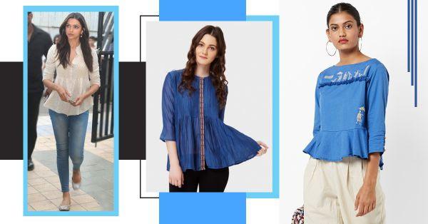 All The Peplum Kurtis You Can Wear With Jeans To Look Like A Fusion Fashion Genius