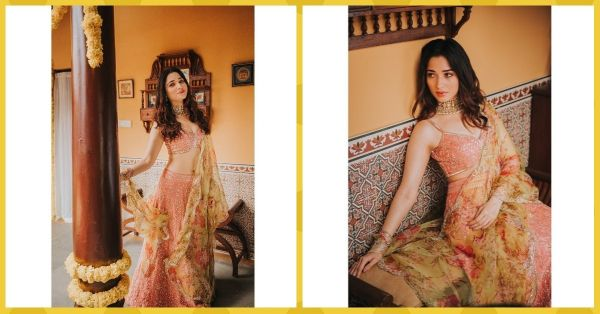 Tamannaah's Pretty Rose Pink Lehenga Is The Perfect Pick For A Beach Wedding!