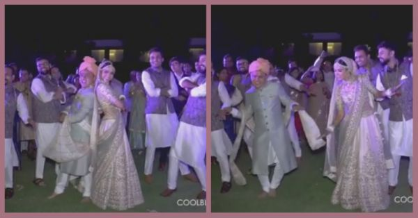 Forget Royal Enfields & Segways, This Is The Coolest Bride & Groom Entry You'll Ever See!