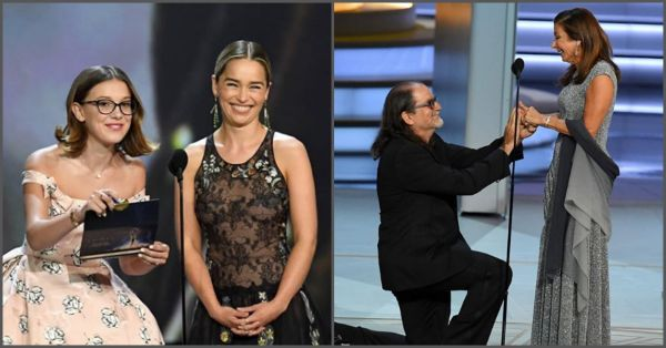 Emmy Awards 2018: A Live Proposal, Our Favourite Moments & The Final List Of Winners!