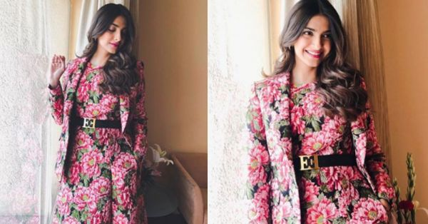 Sonam Kapoor's H2T Floral Outfit Is *Unabashedly Feminine* & We're Thinking #MeToo!