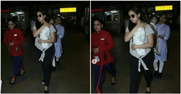 See Pics: Mira Kapoor's First Public Appearance With Baby Zain!