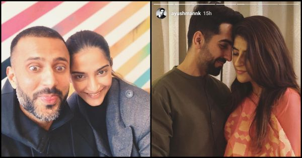 Karva Chauth Special: Sonam-Anand & Ayushmann Break Tradition In The Sweetest Way
