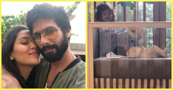 Mira Rajput Shares A Picture Of Misha With Baby Zain & We're Loving The Cuteness!
