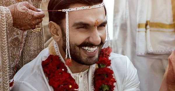 #DeepVeer: Is It Just Us Or Was Ranveer Singh's Dupatta Heavier Than Deepika's?