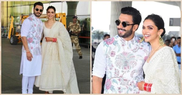 Deepika & Ranveer Were All Smiles & Hugs As They Left For Their Bangalore Reception!