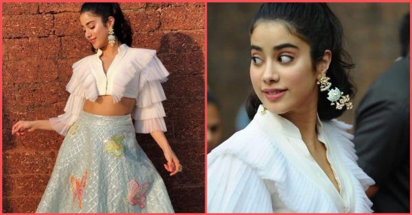 Janhvi Kapoor Made Our Hearts Go *Dhadak* With This Gorgeous Lehenga!