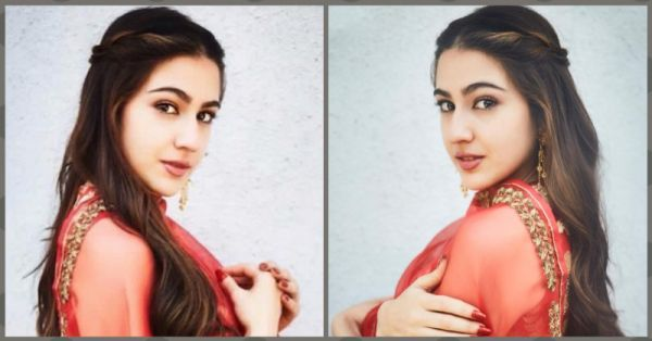 Love Is In The Air: We *Heart* Sara Ali Khan's Romantic Twisted Updo!
