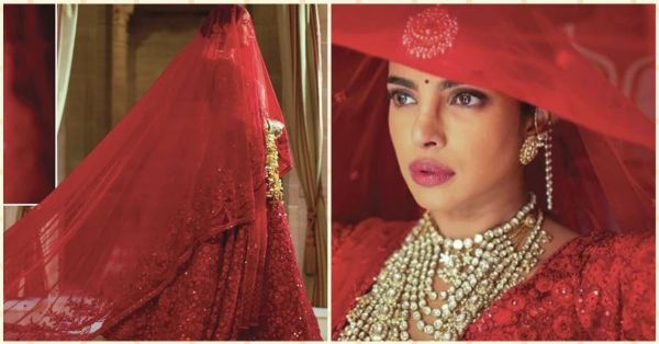 Priyanka's Laal Dupatta (& Outfit) At Her Red Wedding Was An Ode To Her Everlasting Love For Nick!