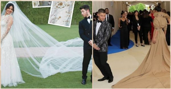 Did You Notice? PeeCee & Nick Recreated The Met Gala Pose At Their Wedding!