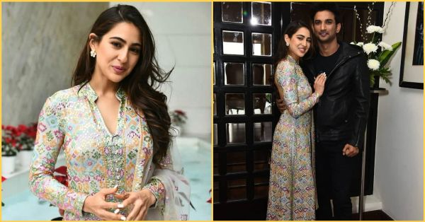 Sara Ali Khan's *Backless* Suit By AJSK Has Floored Us With Its Prettiness