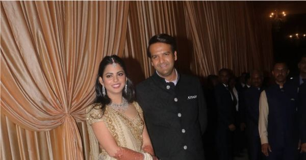 The First Look Of Isha Ambani & Anand Piramal As A Married Couple Is Out!