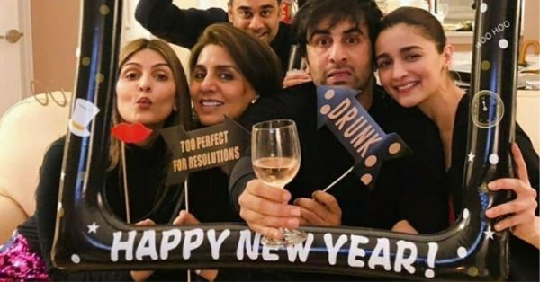 See Pics: Bollywood Celebrities Welcome 2019 With Friends & Family
