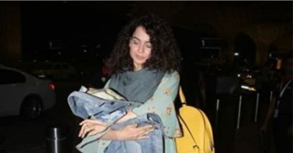 Kangana Ranaut's Maxi Dress Is For Everyone Who Wants A Break From Knits In Winter
