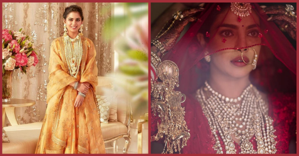 These *NEW* Pictures Of Isha And Priyanka Will Completely Change The Way You Think About Bridal Makeup!