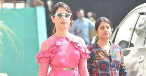 Tamannaah Bhatia's Pink Dress Is A Failed Attempt At Looking Like A Cupcake! Here's Why