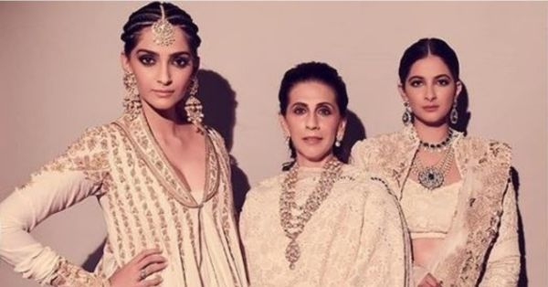 Sonam, Rhea And Sunita Kapoor In Matching Outfits Proves That White Is Always Right!