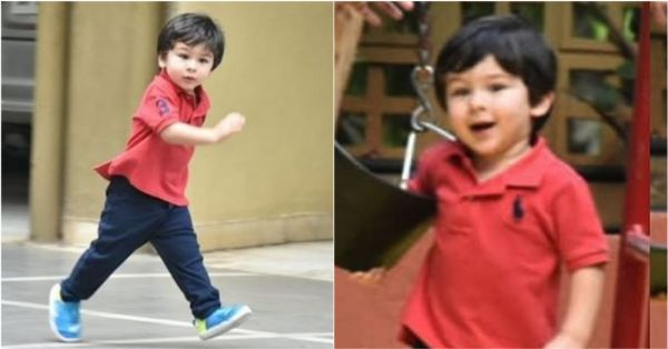 Taimur's Excitement When He Looks At Swings Is Equal To Ours When We Look At Him