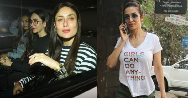 Kareena Kapoor Khan and Malaika Arora Can't Stop It With The Tee(s) And We Know Why!