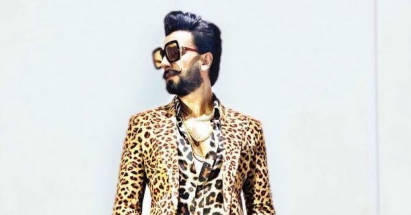 Ranveer Singh Is Making Us Roar And It's All Thanks To His Leopard-On-Leopard Look!