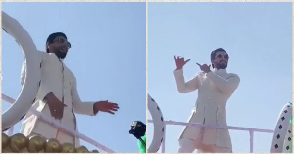 Ranveer Singh Brings His Gully Boy Moves To A Big Fat Desi Shaadi & We Can't Stop Hooting!