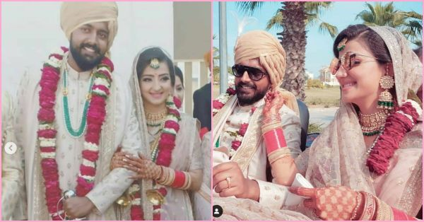 TV Actress Lovey Sasan Has Found Her *Saathi* And Their Wedding Pics Are Absolutely Dreamy!