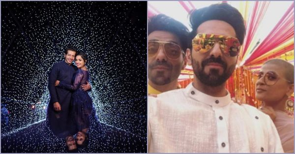 Pictures From Neeti Mohan's Wedding Are Here & We Can Spot A Gorgeous Ayushmann & Tahira!