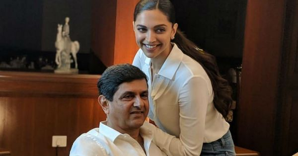 See How Deepika Dressed Up Like A *Real Life Princess* For Her Dad's Special Moment!