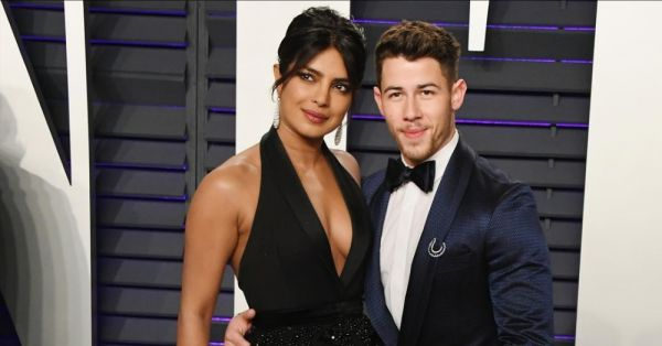 Holy Moly! Priyanka Chopra Matched Her Eye Makeup To Her Earrings At The Oscars After-Party