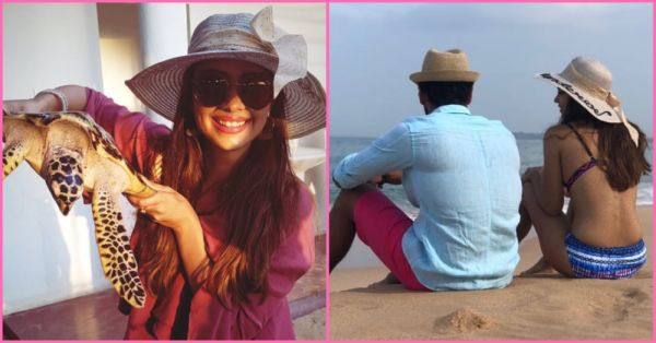 TV Actress Pooja Banerjee Is *Sizzling* In Sri Lanka On Her Second Wedding Anniversary!