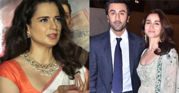 Kangana Ranaut Calls Ranbir Kapoor & Alia Bhatt *Irresponsible* For Refraining To Discuss Politics