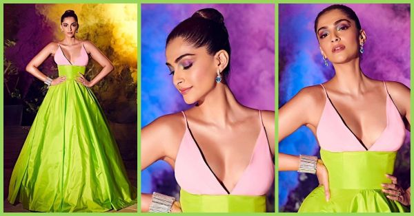 Holi Smoke! Sonam Kapoor Blew Our Minds With Her Risqué Gown & Unicorn Eyes