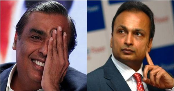 Mukesh Ambani Gave Anil Ambani 453 Crores While My Brother Doesn't Even Pay For My Auto Fare