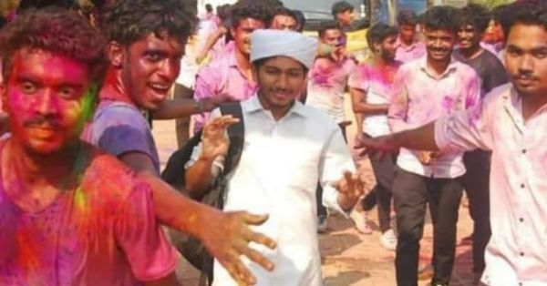 THIS Picture From Holi Celebrations In Kerala Is The Surf Excel Ad In Real Life